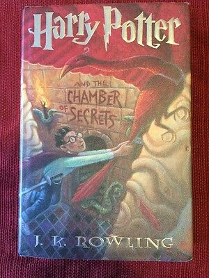 Harry Potter and the Chamber of Secrets. Hardcover, First American Edition.