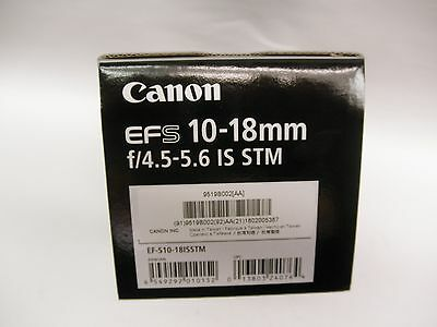 Canon EF-S 10-18mm f/4.5-5.6 IS STM lens for canon eos new model Canon USA