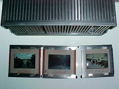 36 red boardered 35mm Kodachrome slides US Army Germany 1950's & scenic