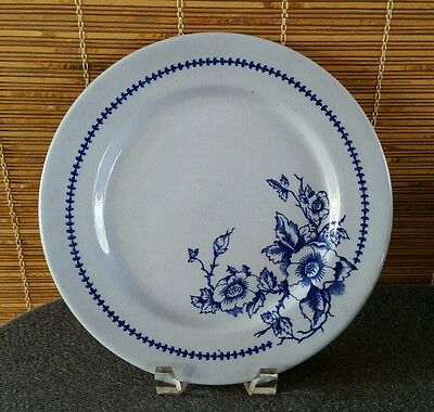 Buffalo China~Lune Floral~(6) Dinner Plates ca.1940~PERFECT FOR EASTER TABLE