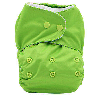 Adjustable Baby Cloth Diaper Toddle Training Pants Reusable Nappy Waterproof