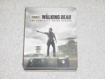 The Walking Dead: The Complete Third Season (Blu-ray Disc, 2013, 5-Disc Set