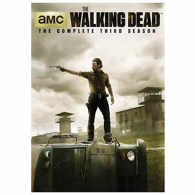 New Sealed The Walking Dead - The Complete Third Season DVD 3 + Bonus Disc Rare