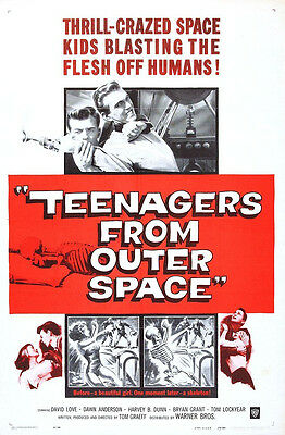 * I WAS A TEENAGE WEREWOLF TEENAGE FRANKENSTEIN TEENAGERS FROM OUTER SPACE DVD *