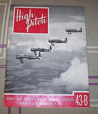 SHAW FIELD, Sumter, S. C. - Army Air Forces Basic Flying School - 43-B - 1942