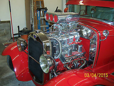 Ford : Model A 2 Door  Coupe 1930 model a pro street
