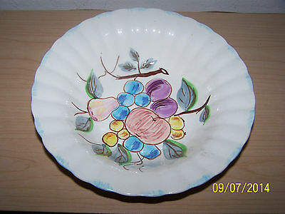 BLUE RIDGE SOUTHERN POTTERIES SERVING BOWL WITH FRUIT