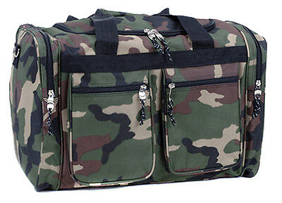 "Rockland Bel-Air 18"" Carry-On Tote Duffle Bag - Camo"