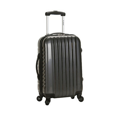 Rockland Luggage Melbourne Series Carry-On Upright - Carbon