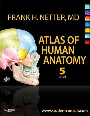 Atlas of Human Anatomy: with Student Consult Access, 5e Paperback