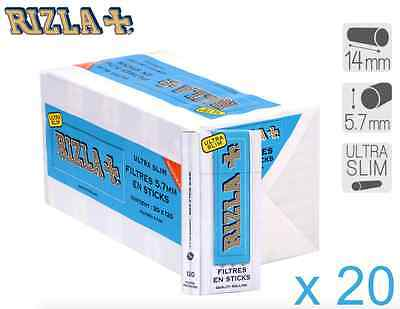 Rizla Filtres Stick Slim Filters Tips EXPRESS RIZLA + Rolling Papers OCB FILTERS