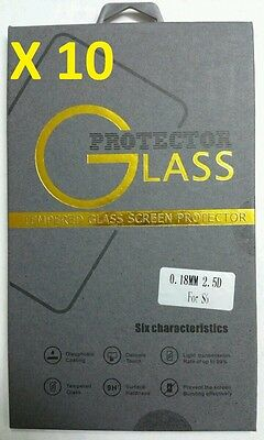 LOT OF 10  9H Protective Tempered Glass Screen Protector For Samsung Galaxy S6