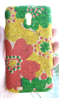 Designer Flower Cork Phone Cover Case For Samsung Galaxy S 2 Epic 4G Touch D710