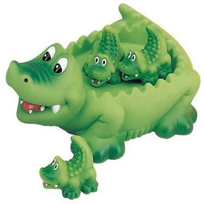Pool Fun Alligator Family Bath Toy Floating ! Outdoor Water Play Beach New