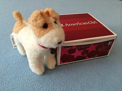 American Girl Molly's Dog Bennett with Dog Tag Collar and Box Mint Retired