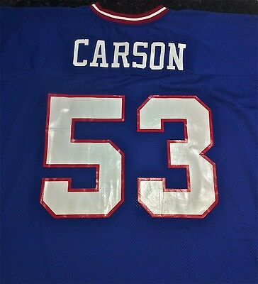 """Harry Carson New York Giants """"1986"""" AUTHENTIC Mitchell & Ness NFL Jersey NEW"""