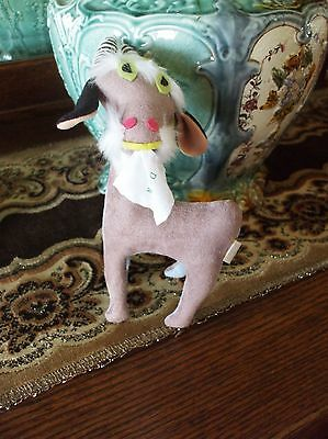 Billy Goat Vintage Dakin Dream Pets Stuffed Suede Animal Toy Tush Tag