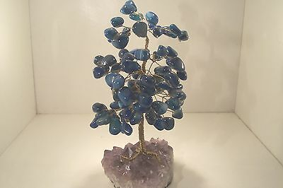 """""""Tree of Life"""" with Sodalite Gem Stones 7005 #4"""