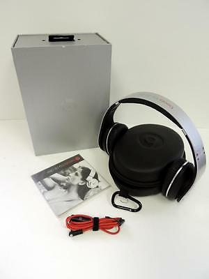 Monster Beats by Dr. Dre Studio Headphones - Silver / Used / #ASi