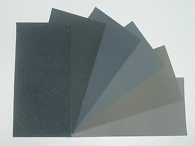 "MICRO-MESH Regular -  Abrasive Polishing Cloth Kit - 6 Sheets of 6""x3"""