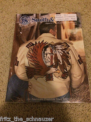 VINTAGE SMITH & WESSON CATALOG 2003 S&W rare APPAREL ACCESSORIES COLLECTIBLES