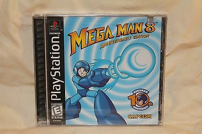 Mega Man 8: Anniversary Collector's Edition (PlayStation 1, PS1, PSX) NEW SEALED