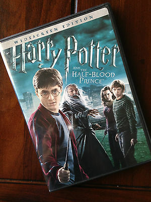 HARRY POTTER AND THE HALF-BLOOD PRINCE ~ Widescreen DVD ~ Good
