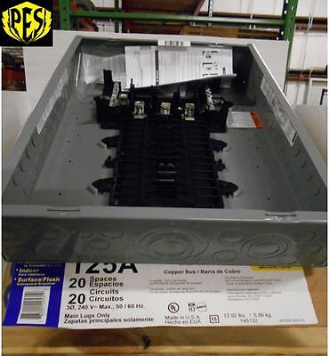 !!!price Drop!!!~New~ Square D Qo320L125G Three Phase 125A Mlo Panel~ New Stock