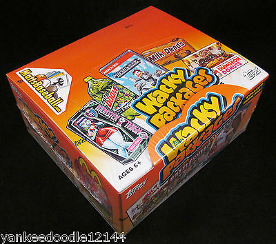 2013 Topps Wacky Packages series 10 Factory Sealed Box, 24 Packs/10 Stickers