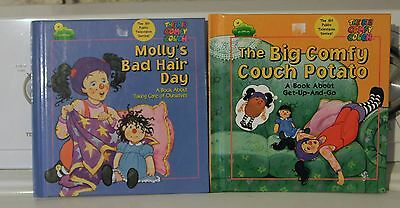 THE BIG COMFY COUCH  MOLLY'S BAD HAIR DAY COUCH POTATO HARDCOVER 2 PC BOOK BOOKS