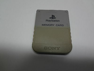 Memory Card for Sony Playstation Japan LOOSE