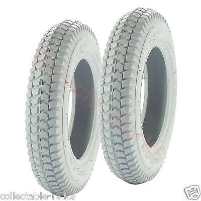 2 Tyre 3.00-8 4 Ply Grey Wheelchair Trolley Electric Mobility Scooter 3.00X8 949