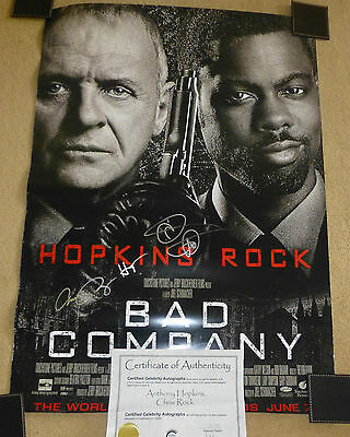 BAD COMPANY-A Stunning Hand Signed Movie Poster-With Genuine COA-RARE