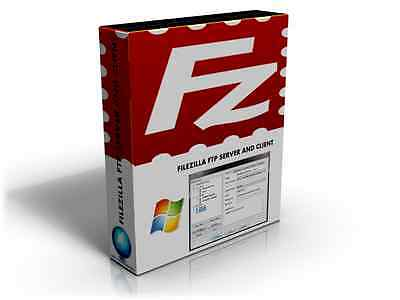 ***Brand New*** FileZilla FTP Server and Client Software CD