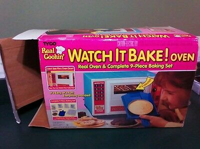 Tyco Real Cookin Watch It Bake Oven
