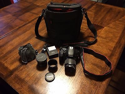 Canon EOS Rebel T2i / 550D 18.0 MP Digital SLR Camera - Black