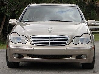 Mercedes-Benz : C-Class C320 Sedan-Like 02 03 04 05 06 AMG FLORIDA IMMACULATE-ONLY 51K MILES-NAV-CHROME WHEELS-NICEST 01 C320 ON THE PLANET