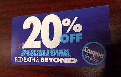 Bed Bath & Beyond 20% Off ENTIRE PURCHASE Expire 4/15/2015