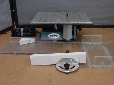 "Jarmac 1002SG Came Saw 6.5"" x 9"" work table & 1/15 HP Motor at 5000 RPM *"