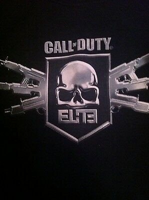 Mens Call of Duty Elite MW3 T-Shirt Size XL Color Black