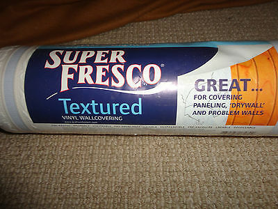 1 ROLL  Graham &Brown  Super Fresco Textured wallcovering  #17479  11 yd x 56ft