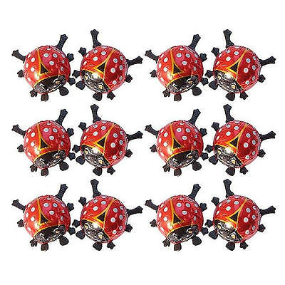 10 Milk Chocolate Red Ladybugs - ''bugs' Kids Birthday Theme Parties Candy Bar