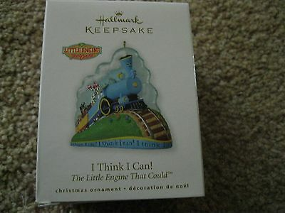 2010 Hallmark Ornament I Think I Can The Little Engine That Could