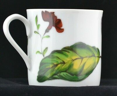Mottahedeh Exotic Plant Collection Porcelain Tea Cup Coffee