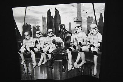 Star Wars Darth Vader & Storm Troopers Having Lunch Construction Site XXL NWT