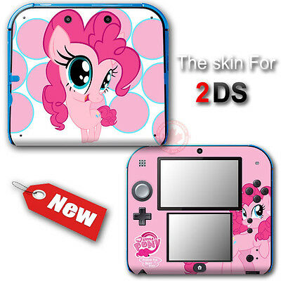 My Little Pony Pinkie Pie Pink Popular SKIN STICKER DECAL COVER for Nintendo 2DS