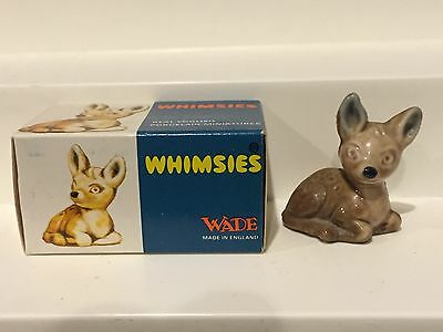 Wade England Whimsie 1971 Fawn Set #1 with Box