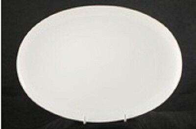Thomas China 2Mm Thin Silver  (745)  Steak Plate  28Cm  -  New - Rrp 36.00