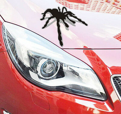Cool New Spider 3D Shadow Decorative vehicle random body car stickers wall Decal