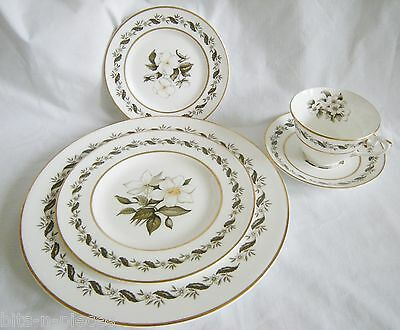 Royal Worcester BERNINA 3 Pc Place Setting Dinner Salad Bread and Butter